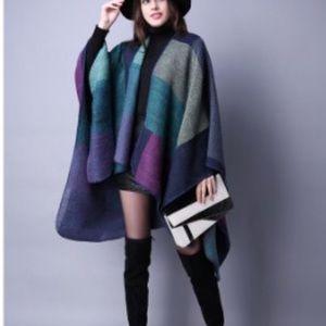 Accessories - Cozy blanket poncho/ shawls